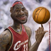 LeBron James by Jubhubmubfub