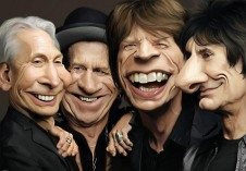 The Rolling Stones by pouria hadizadeh