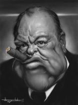 Winston Churchill by Patrick Strojulski
