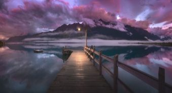 Glenorchy Sunrise (photo by Jimmy McIntyre