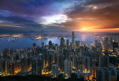 Hong Kong Sunrise (photo by Jimmy McIntyre)