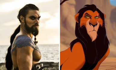 Jason Momoa (unintentionally) channeling Scar from The Lion King