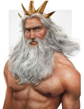 King Triton, by Jirka Vinse Jonatan Väätäinen