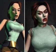 Lara Croft (Russian cosplayer Jules Gudkova)