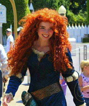 Merida (unknown cosplayer)