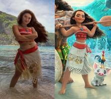 Moana - this cosplayer IS her