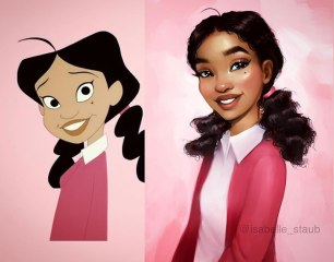 Penny Proud from The Proud Family by Isabelle Staub
