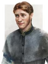Prince Hans from Frozen by Jirka Vinse Jonatan Väätäinen