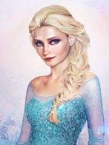 Queen Elsa from Frozen by Jirka Vinse Jonatan Väätäinen