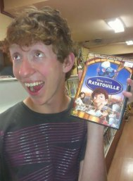Real life Linguini from Pixar's Ratatouille