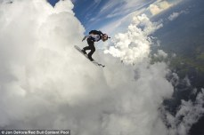 Red Bull Air Force 'cloud surfer' Sean MacCormac