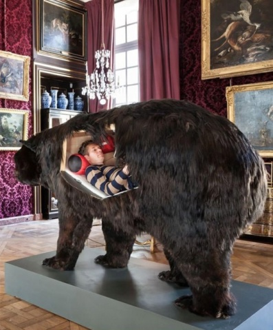 Can't 'bear' Halloween--here's the perfect place to hide(ebaumsworld.com)