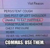 Grammar Nerds--Copmmas Matter, Pt. 2