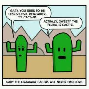 Grammar Nerds--Plurality Matters