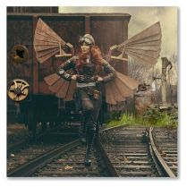 'I Believe I Can Fly' steampunk adeventurer outfit created by pinkbydesign