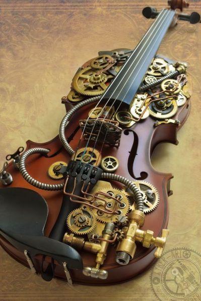 Sherlock Holmes violin by cybercrafts
