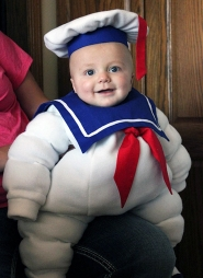 Stay-Puft Marshmallow Baby