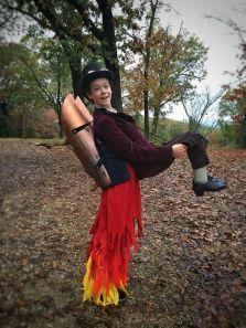Steampunk Jetpack Halloween costume