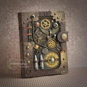 Steampunk journal (Etsy.com)