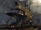 steampunk locomotive