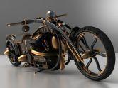 Steampunk motocycle (ebaumsworld.com)