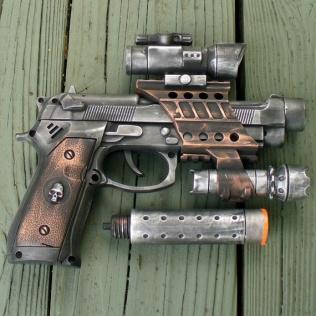 Steampunk Nerf Gun (ebaumsworld.com)
