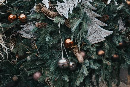 Christmas ornaments on tree by Alisa Anton (unsplash.com)