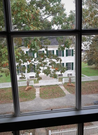 Shaker Village - as seen from another dwelling
