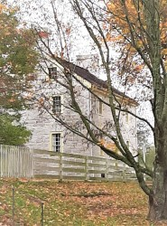 Shaker Village - the first and oldest stone house in the area