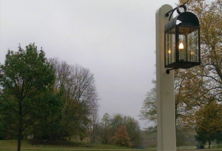 Shaker Village - a misty dusk arrives