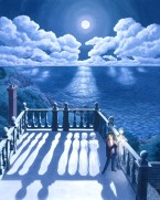 Fantastic Optical Illusion painting2 by Rob Gonsalves (webneel.com)