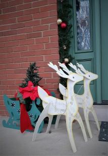 Reindeer Greeters,