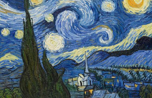 Starry Night by Van Gogh (amazon.com)