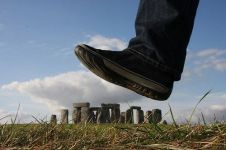 Stonehenge - forced perspective photo by maybemaq (flickr.com)