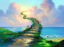 Surreal painting by Jim Warren (webneel.com)