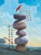 Surreal painting by Paul David Bond (webneel.com)