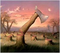 Surreal painting by vladimir kush (webneel.com)