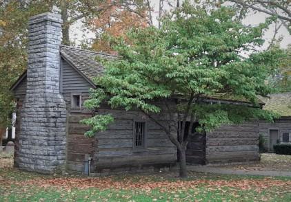 Danville, Kentucky settler's cabin