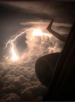 Lightning Strike seen from a jet plane - Reddit-KingPZe (diply.com)
