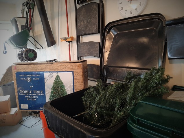 RIP Old Christmas Tree7