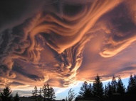 Asperatus clouds, New Zealand