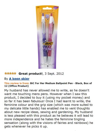 Bic Pen 'For Her'