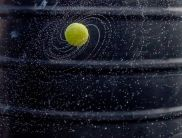 Birth of a Galaxy - it all began with a tennis ball - photo credit, Abhijeet Kumar (boredpanda.com)