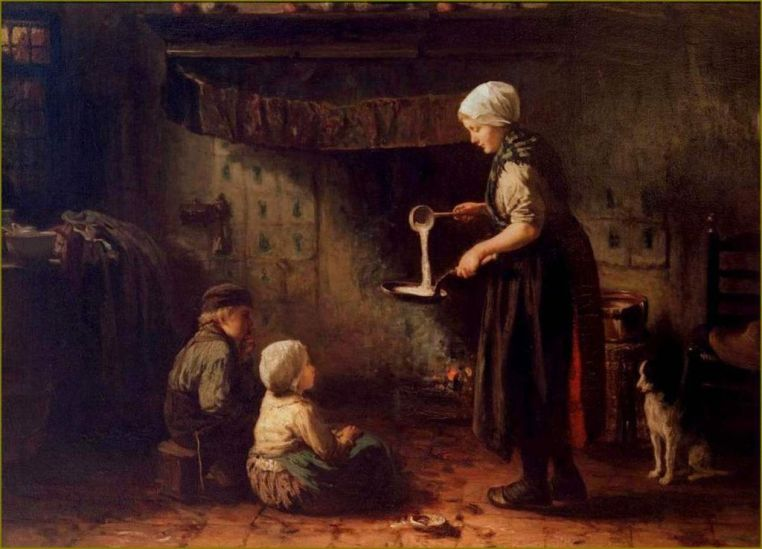 Candlemas by Jozef Israels