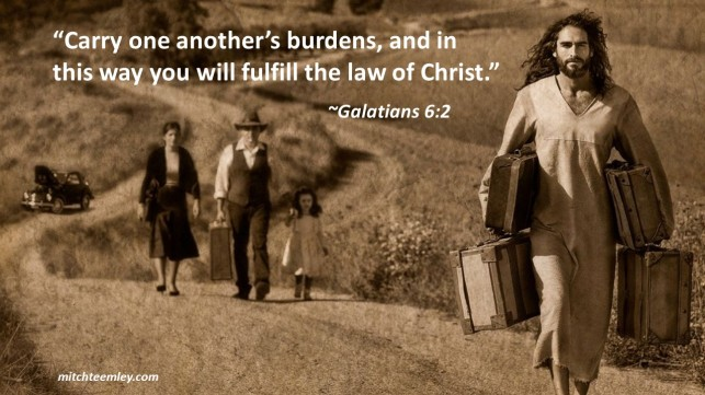 Carry One Anothers' Burdens