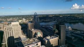 Cincinnati - view from Carew Tower