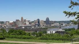 Cincinnati - view from Devou Park, Kentucky