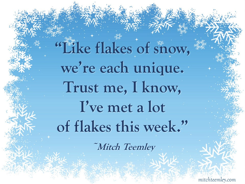 'Flakes' by Mitch Teemley