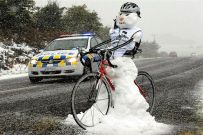 Funny-Snowman-On-Bicycle