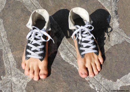 Barefoot Sneakers (awesomestuff365)